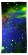 Crescent Nebula Bath Towel