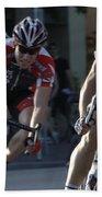 Criterium Bicycle Race 7 Bath Towel