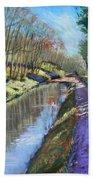Cromford Canal Bath Towel