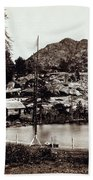 Crystal Lake And Black Butte - California - C 1865 Bath Towel