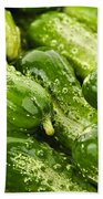 Cucumbers  Hand Towel
