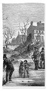 Curling, 1853 Bath Towel
