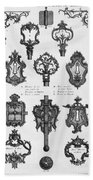 Cuvilli�s: Locks And Keys Bath Towel