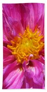 Dahlia Named Pink Bells Bath Towel