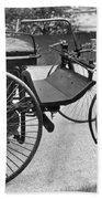 Daimler Automobile, 1889 Bath Towel