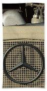 Daimler-benz A-g Hood Emblem Bath Towel