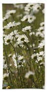 Daisy Fields Forever - Alabama Wildflowers Bath Towel