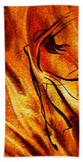 Dancing Fire Vi Bath Towel