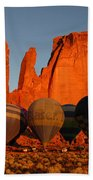 Dawn Flight In Monument Valley Bath Towel