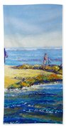 Day Out At Coloundra Beach Queensland2 Bath Towel