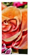 Dazzling Rose Bath Towel