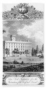 Deaf And Dumb Asylum, 1835 Bath Towel
