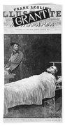 Death Of Ulysses S. Grant Bath Towel