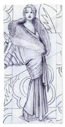 Deco Fashions Bath Towel
