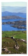Derrynane Harbour, Caherdaniel, Ring Of Bath Towel