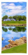 Desert Golf Bath Towel