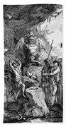 Destruction Of Idols, C1750 Hand Towel
