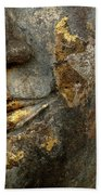 Detail Buddhas Lips Bath Towel