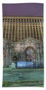 Detroit's Michigan Central Station - Michigan Central Depot Bath Towel