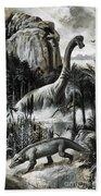 Dinosaurs Bath Towel
