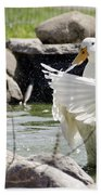 Doin The Duck Splash Bath Towel