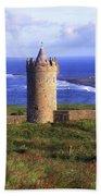 Doonagore Castle, Co Clare, Ireland Bath Towel