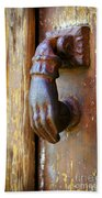 Door Knocker Bath Towel