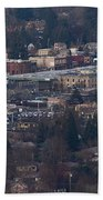 Downtown Grants Pass Sunday Morning Bath Towel