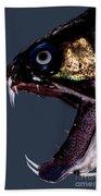 Dragonfish Mouth Bath Towel