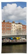 Dublin Scenery Bath Towel