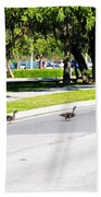 Duck Crossing Bath Towel