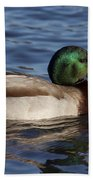 Duck On The Water Bath Towel