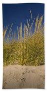 Dune And Beach Grass On Lake Michigan No.969 Bath Towel