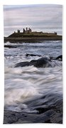 Dunstanburgh Castle Iv Bath Towel