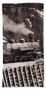 Durango And Silverton Steam Train Bath Towel