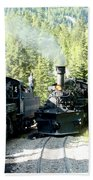 Durango Silverton Steam Locomotive Bath Towel