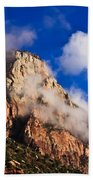 Early Morning Zion National Park Bath Towel
