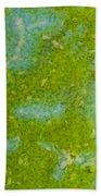 Easter Egg Green Macro 1 Bath Towel