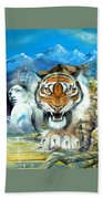 Easy Tiger Bath Towel
