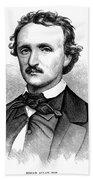 Edgar Allan Poe (1809-1849) Bath Towel