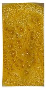 Square Format. Sunny Egg Bubbles  Bath Towel