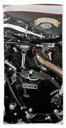 Egli-vincent Godet Motorcycle Bath Towel