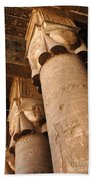 Egypt Temple Of Dendara Bath Towel