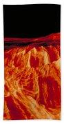 Eistla Regio Of Venus Bath Towel