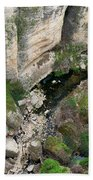 El Tayo River Gorge In Ronda Bath Towel