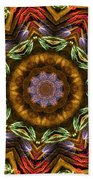 Electric Mandala 2 Bath Towel
