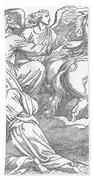 Elijahs Ascent To Heaven Bath Towel