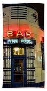 Elwood Bar And Grill Detroit Michigan Bath Towel