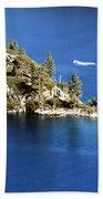 Emerald Bay Lake Tahoe Bath Towel
