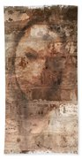 Emotions- Self Portrait Hand Towel